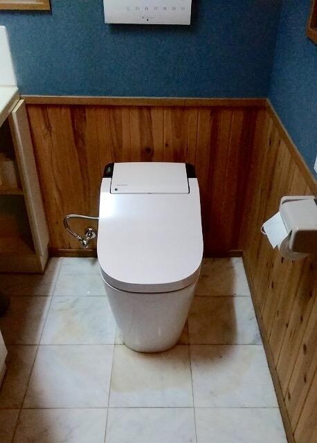 トイレ 施工後 リフォーム後