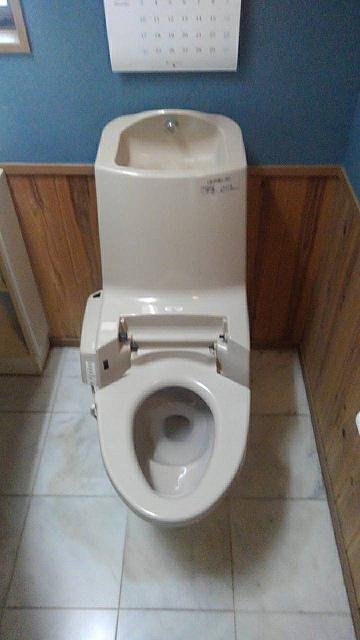 トイレ 施工前 リフォーム前