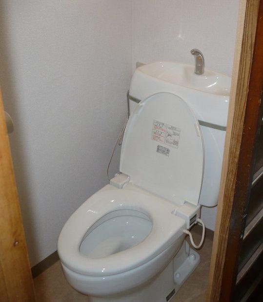 洋式トイレ 施工後