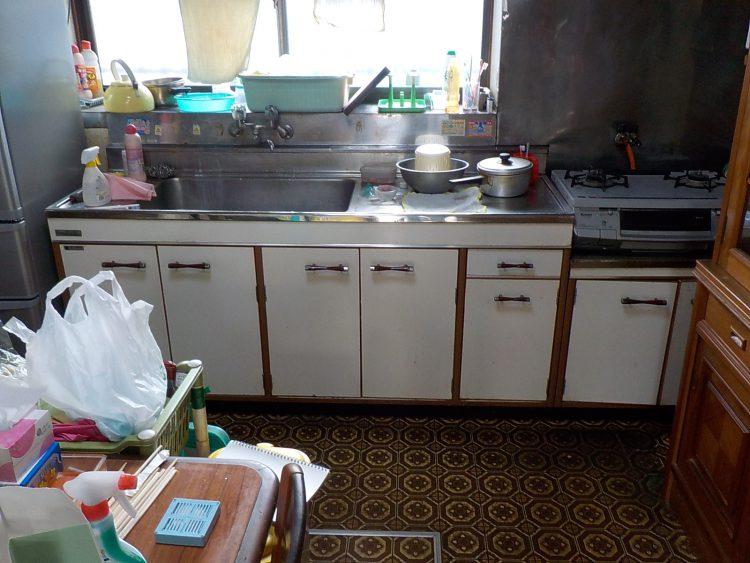 キッチン リフォーム前 施工前