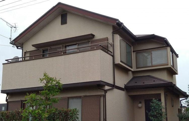 外壁屋根塗装 施工前写真