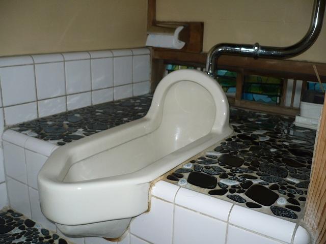 和式トイレ 施工前