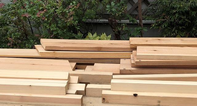 木材端材写真