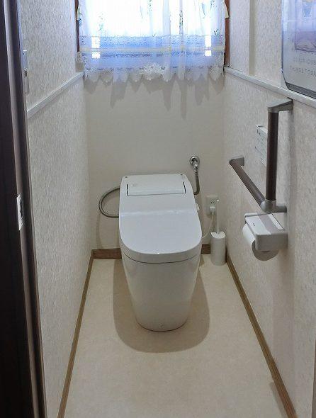 トイレ施工後写真
