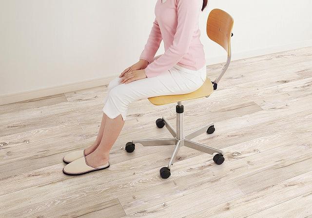 ウスイータ キャスター付き椅子 傷つかない